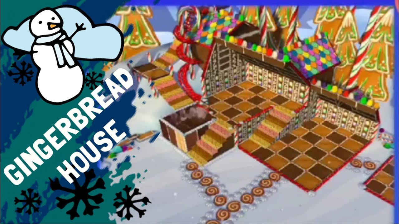 Gingerbread House Den Decorating Animal Jam Play Wild