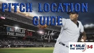 MLB 14 The Show :: Pitch Location Guide by Someotherdude67
