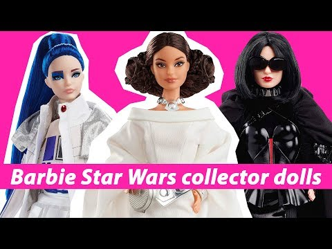 Jim E. Chonga - Mattel Brings on Barbie Star Wars Collector Dolls!