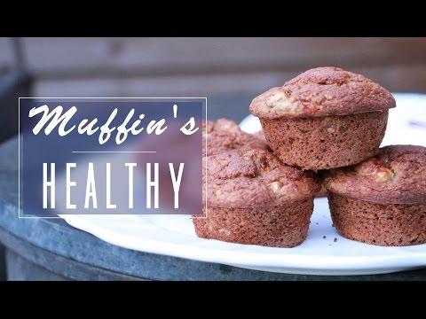 recette-healthy-:-muffin's-chocolat/banane