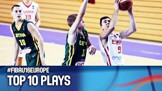 Top 10 Plays - FIBA U16 European Championship 2016