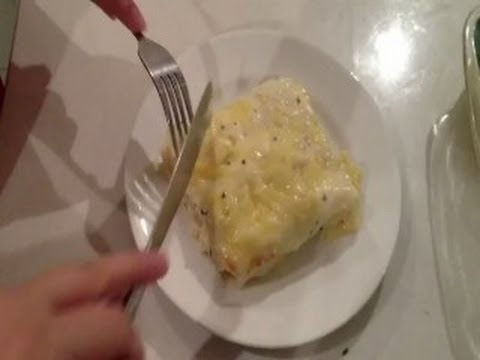 Cannelloni in White Sauce Recipe