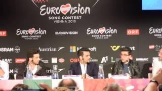 Il Volo - a capella during the press conference in Vienna - 17-05-2015