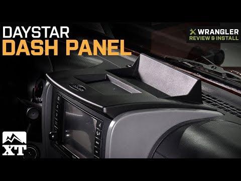 Jeep Wrangler Daystar Dash Panel - Upper (2007-2010 JK) Review & Install