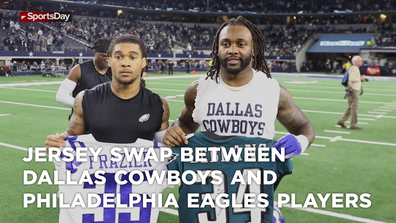 jersey-swap-between-dallas-cowboys-and-philadelphia-eagles-players