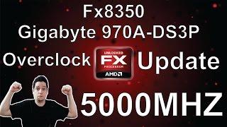 OVERCLOCK FX8350 - 970A-DS3P (Update) Detalhando um Pouco mais o Overclock Anterior. REFERENCIA