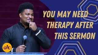 You May Need Therapy After This Sermon | Rev. Edward Jordan | Allen Virtual Experience