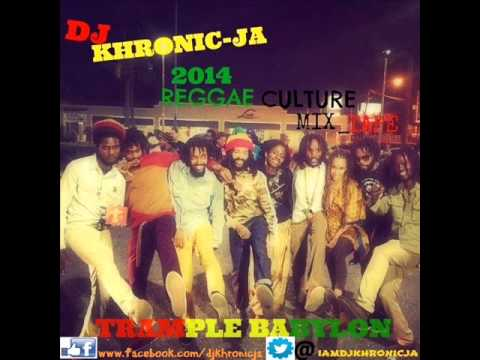 Dj khronic Ja _ reggae one-drop 2014 Trample babylon