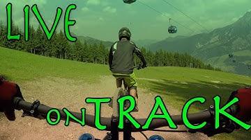Hang Man I Bikepark Leogang - LIVE on Track mit Eric   Felix´s Welt
