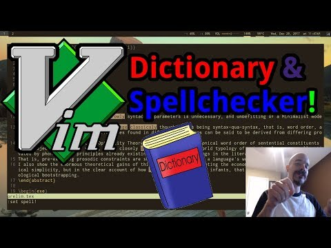 Vim's built-in Spell-Checker, Corrections and Multilingual Dictionaries!