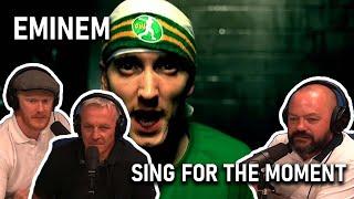 Office Blokes React   Eminem - Sing for the Moment (REACTION!!)