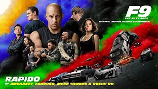 Amenazzy, Farruko, Myke Towers & Rochy RD - Rapido (Official Audio) [from F9 - The Fast Saga]