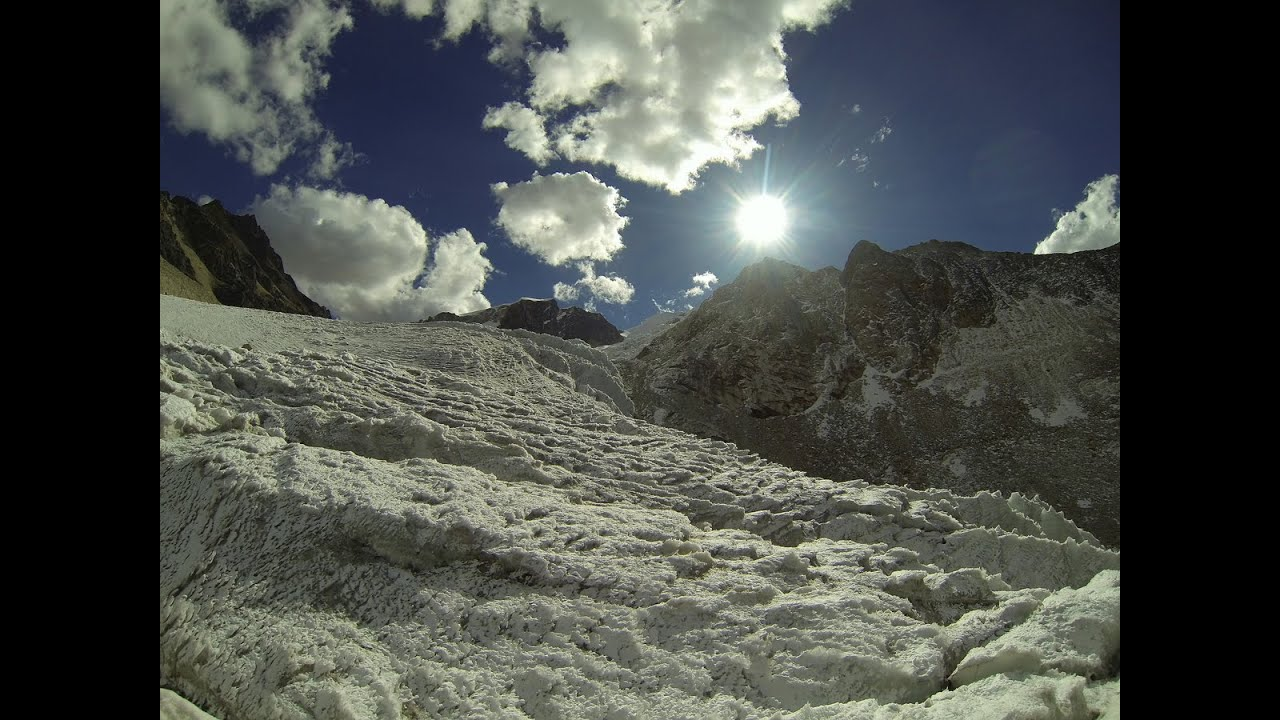 Bolivia Andes Mountains Part 2 Glacier Full Hd Youtube