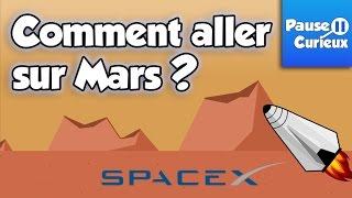 Comment aller sur Mars ? Avec SpaceX - Curieusement Vôtre #1