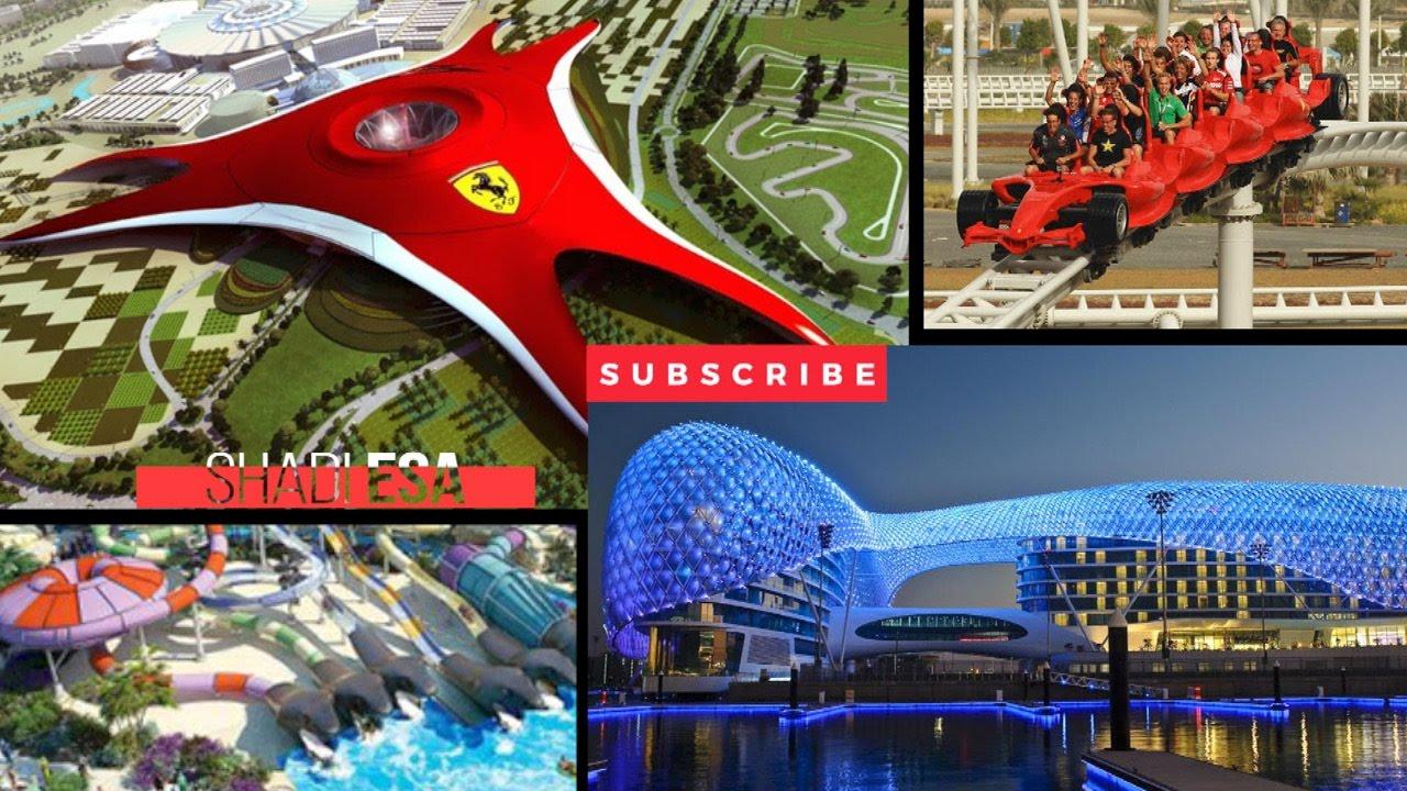 فندق فايسروي جزيرة ياس أبوظبي Yas Viceroy Abu Dhabi Youtube