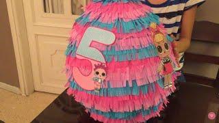 طريقة صنع البنياتا وتجهيزات عيد ميلاد
