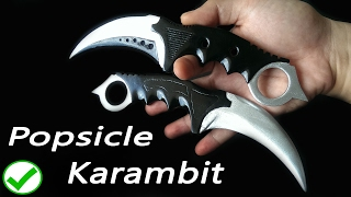 CS:GO Popsicle Karambit knife DIY tutorial