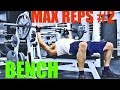 (BENCH TEST #2) - Max Reps 135lbs (30 reps) - Sep 2016