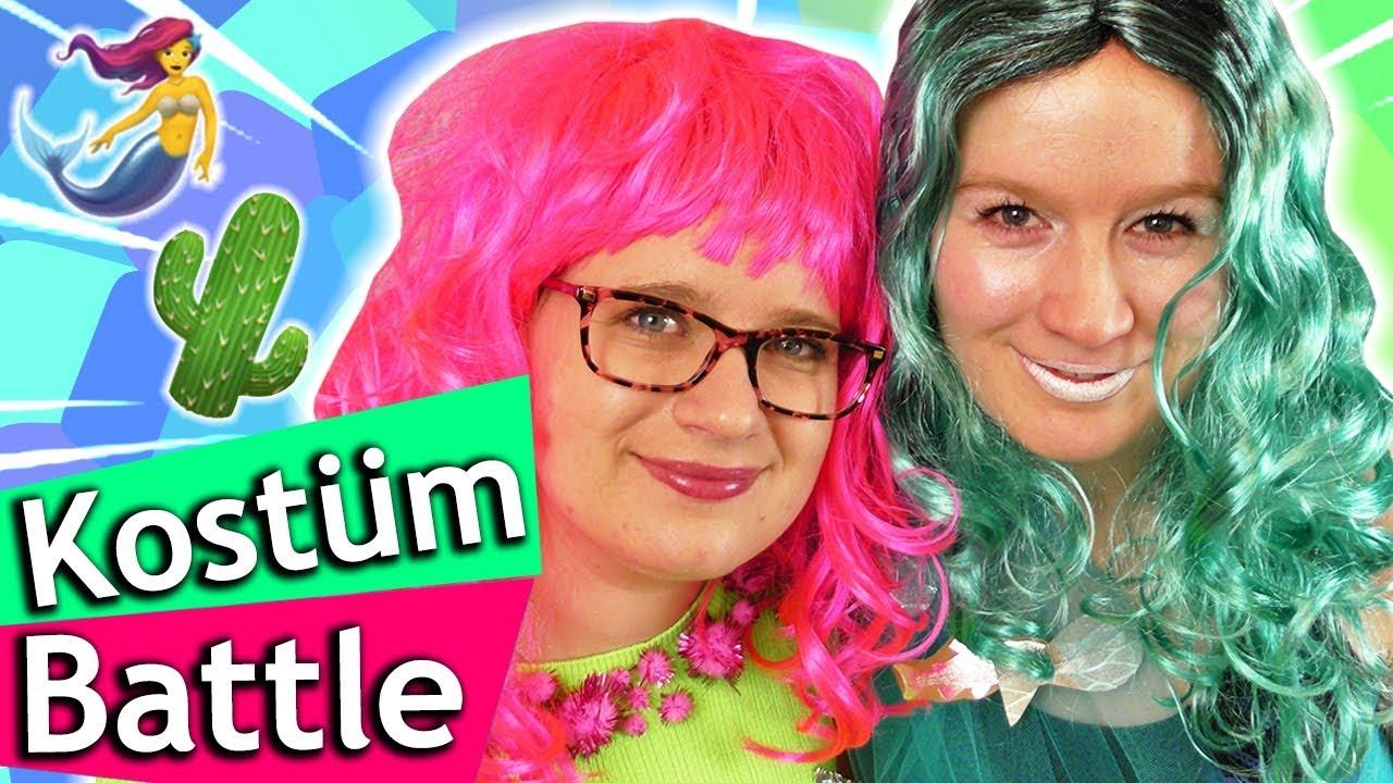 Diy Karneval Kostume Selber Machen Fasching Ideen Kaktus Vs
