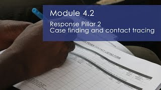 WHO:GO Training - Case finding and contact tracing - Module 4.2