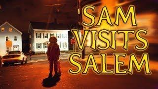 Sam Visits Salem Mass - Halloween Day Event 2012