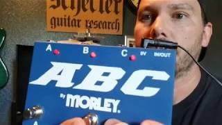 Morley ABC Switch and Bi-Amp Setup Demo