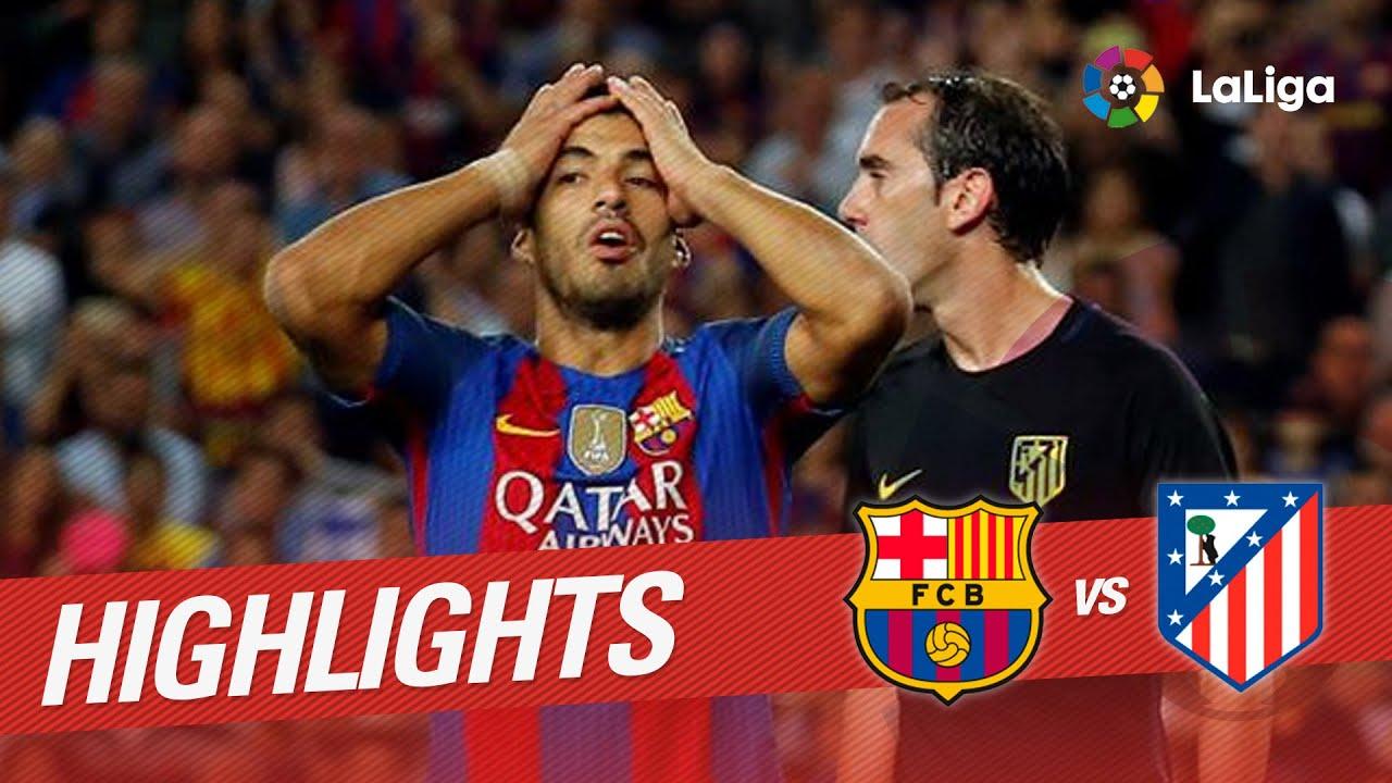 Highlights Fc Barcelona Vs Atlético De Madrid 1 1 Youtube