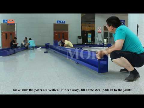 Installation Steps Of 4 Post Car Lift   MORN® Lift
