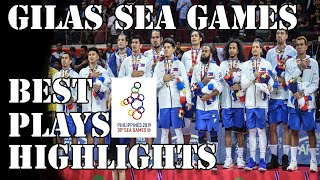 GILAS PILIPINAS SEA GAMES BASKETBALL 2019 BEST PLAYS AND HIGHLIGHTS