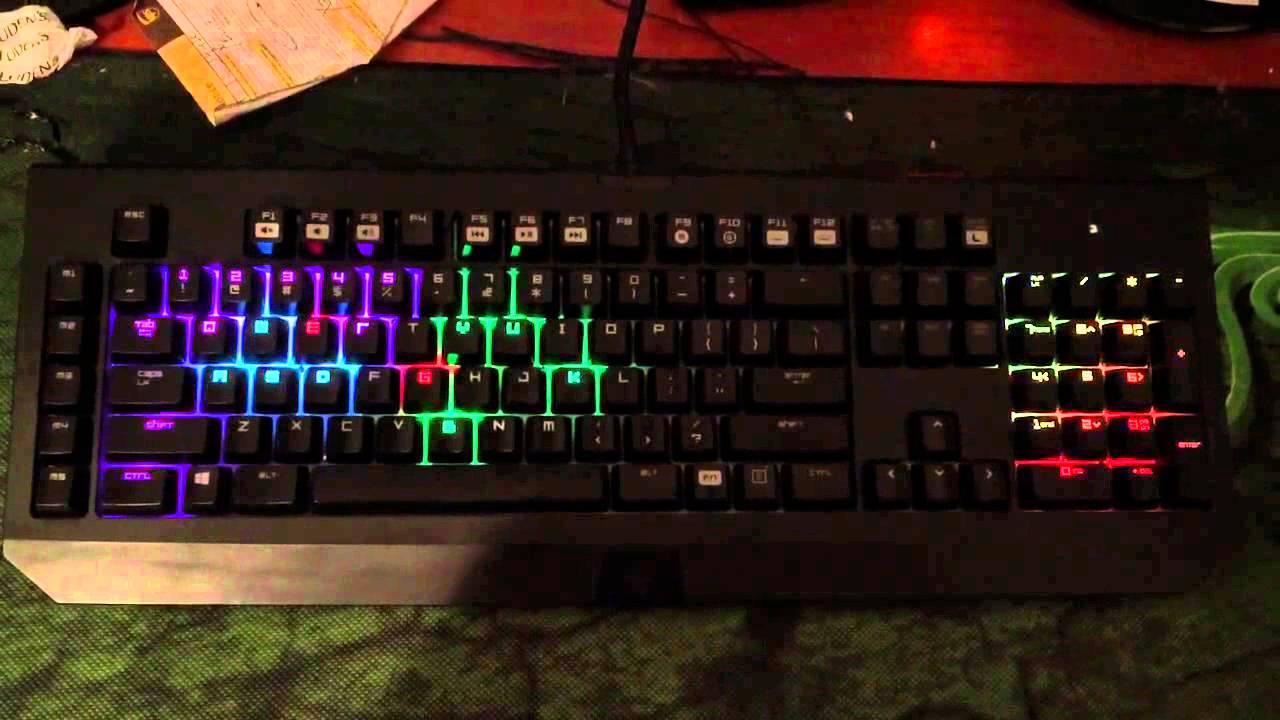 Blackwidow Chroma CSGO Light setup