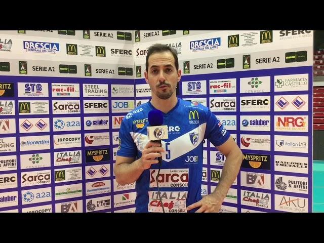 Tiberti analizza Gara 2 di finale persa con Taranto