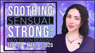 New Moon Reading | Feb. 23 - Mar. 8, 2020 | Sarah Hall ☽♥☾
