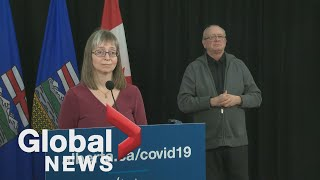 Coronavirus: Alberta records highest number of daily deaths from COVID-19 | FULL