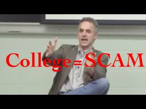 Jordan Peterson- Why college is a SCAM and how tuition fees