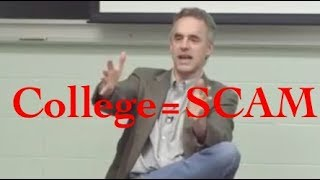 Jordan Peterson- Why college is a SCAM and how tuition fees are out of control