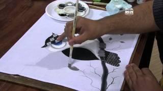 Luciano Menezes – Pintura em tecido coruja Parte 2/2