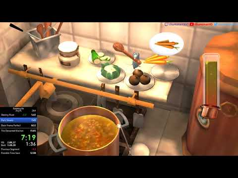 [Former World Record] Ratatouille Any% In 14:54