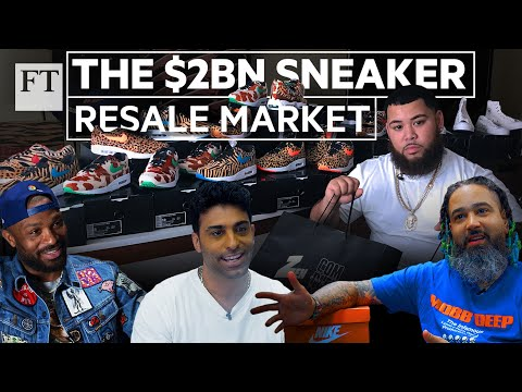 How sneaker fans are cashing in on the $2bn resale market