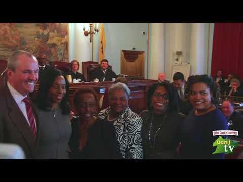Union County- Reorganization FH Angela Garretson Oath and Greeting -Union County NJ