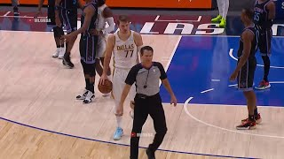 Luka Doncic just collected his 12 technical he is five away from being suspended