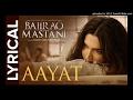 Aayat - Bajirao Mastani