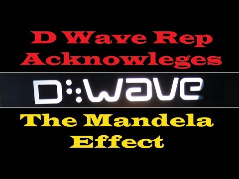 Bill Clinton Impeached – Dwave rep talks about the Mandela Effect