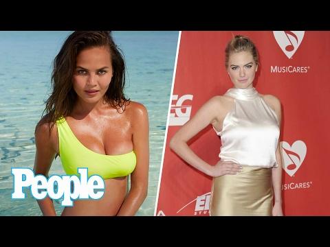 Chrissy Teigen's Post-Baby Body SI Swim Shoot, Kate Upton's Dream Honeymoon | People NOW | People