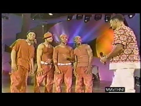 B2K's First Soul Train Appearance (2001) [Performs & Interview]