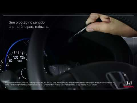 Honda HR-V LX/EX 2017 a 2019 e EXL/Touring 2017/2018: Entendendo controles de iluminação do painel