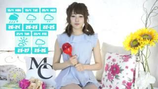このビデオの情報Weather girls 佐藤麗奈.