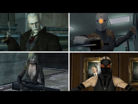 Metal Gear Solid Twin Snakes: All Bosses / All Boss Fights and Ending