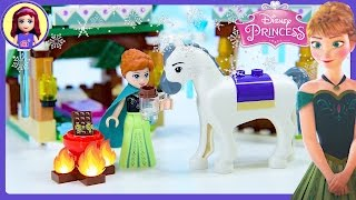 Lego Disney Princess Anna's Snow Adventure Frozen Review Build Silly Play Kids Toys