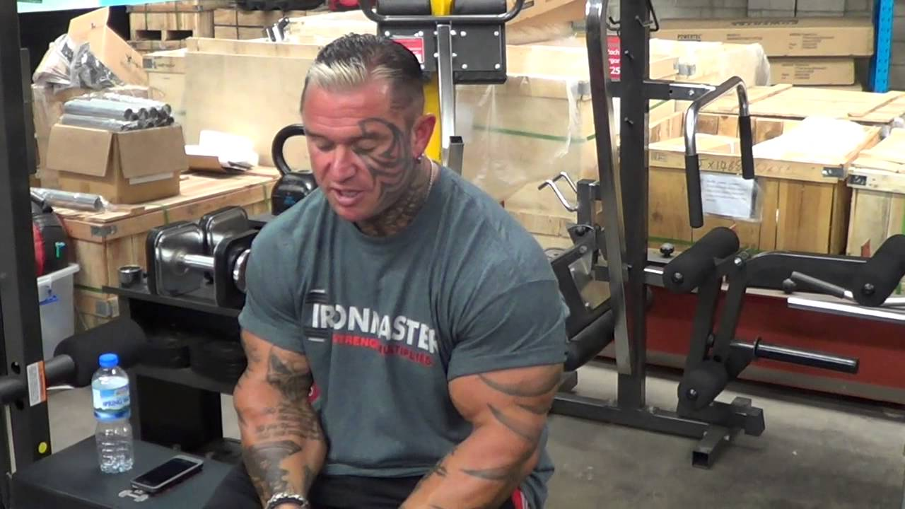Lee Priest Talks About His Lifetime Ifbb Suspension Youtube