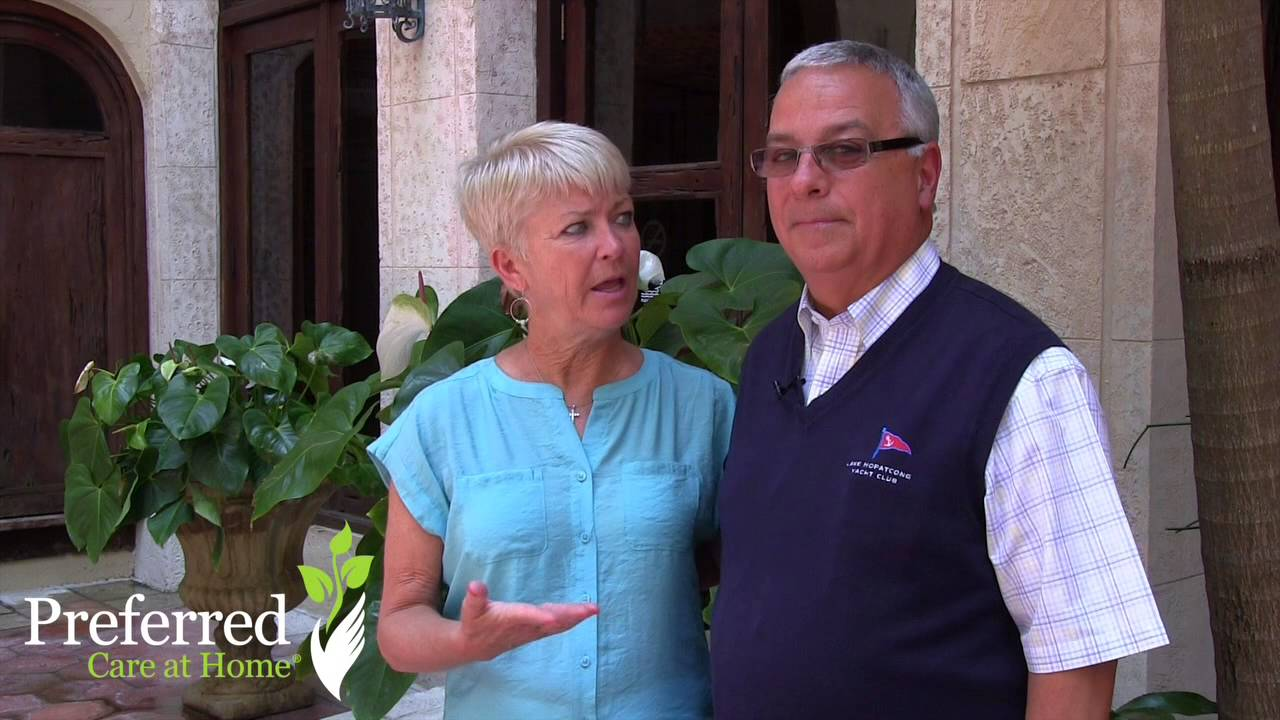Preferred Care at Home of Northwest New Jersey -- Owners Jill & George Malanga - YouTube